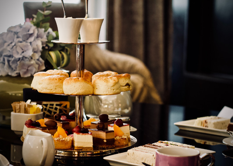 Luxury afternoon teas